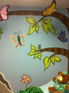 Mural - Children's Medical Exam Room